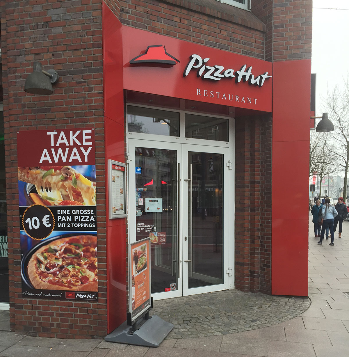 Testseite Pizza Hut Restaurants